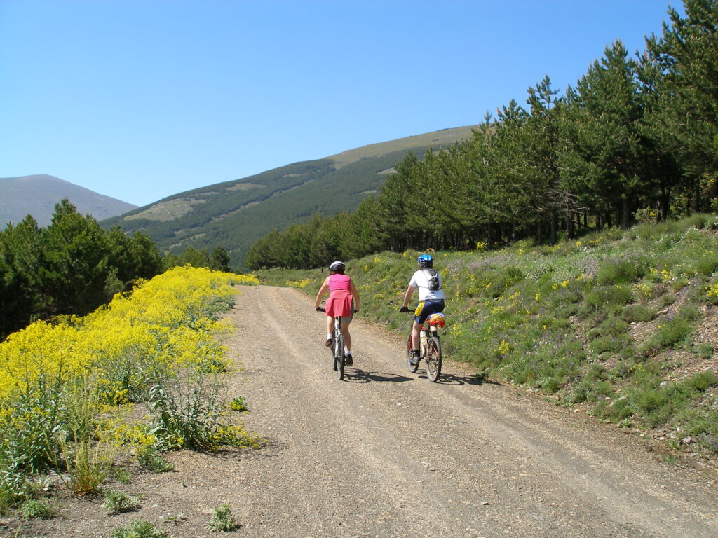 Bici por Sierra Nevada