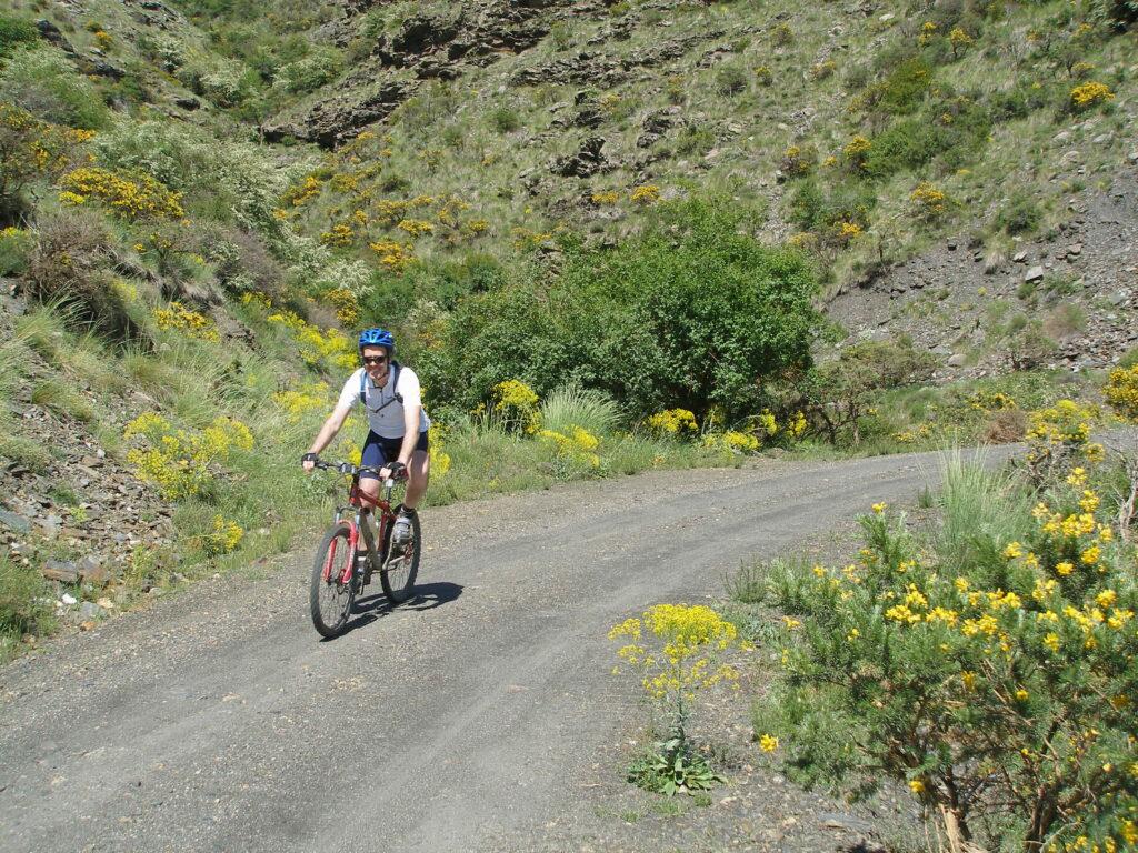 ruta bici Alpujarras Yegen