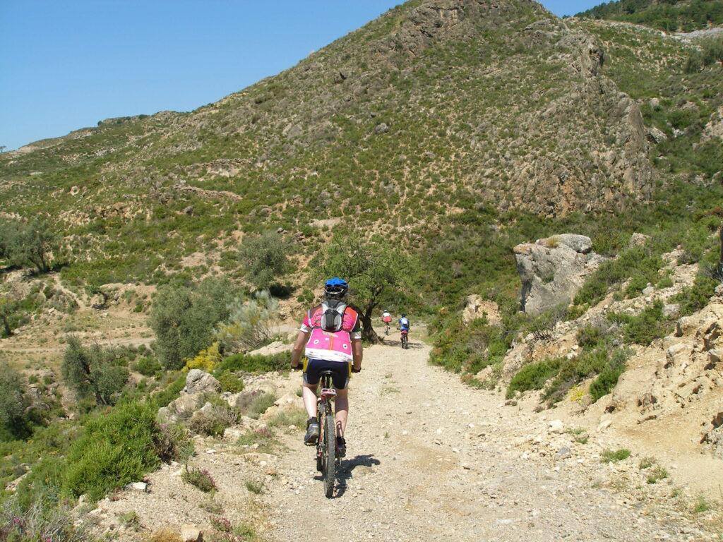 Ruta bici montaña desde Yegen